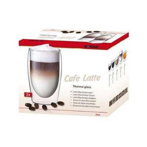 Scanpart Scanpart CAFE LATTE dvigubo stiklo stiklinės 2 x 350 ml 19,99EUR