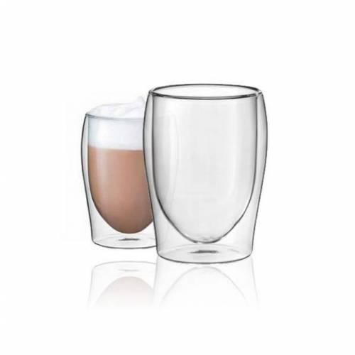 Scanpart Scanpart CAPPUCCINO dvigubo stiklo stiklinės 2 x 300 ml 16,99EUR