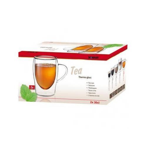 Scanpart Scanpart arbatos dvigubo stiklo puodeliai 2 x 300 ml 19,99EUR