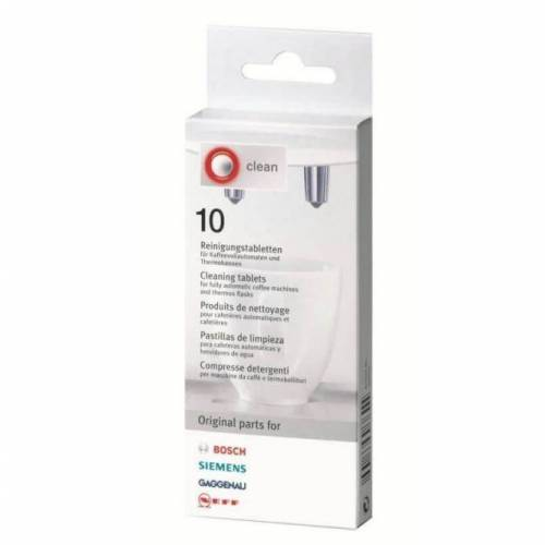 BOSCH Bosch - Siemens valymo tabletės (10 vnt) 10,99EUR