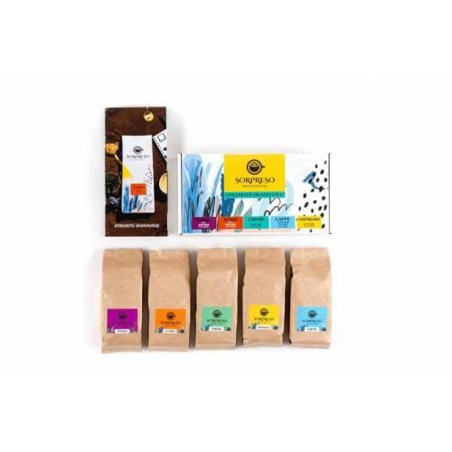 SORPRESO Sorpreso kavos pupelių testavimo rinkinys 5 x 100 g 11,99EUR