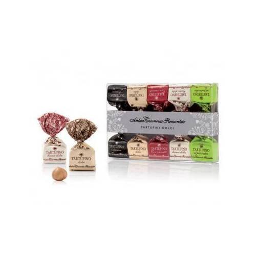 Šokoladinių triufelių dėžutė TARTUFINI DOLCI MISTI 70 g