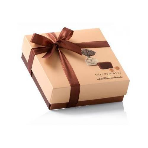 Šokoladinių triufelių dėžutė TARTUFI  DOLCI COLORE 125 g