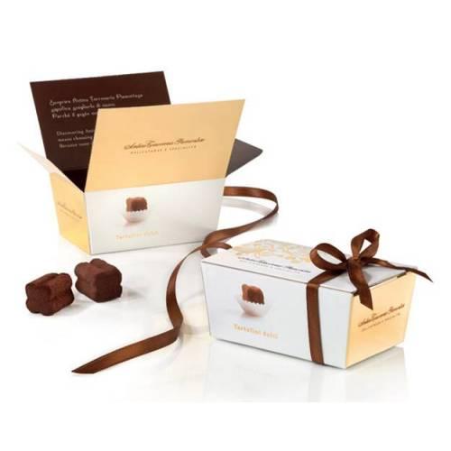 Antica Torroneria Piemontese Šokoladinių triufelių dėžutė TARTUFO DOLCE L'OROGINAL 50 g 4,89EUR