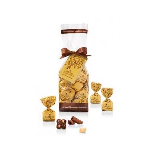 Šokoladiniai triufeliai  TARTUFI ZENZERO 200 g