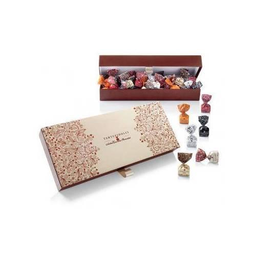 Saldainių dėžutė TARTUFI DOLCI ASSORTITI (500 g)