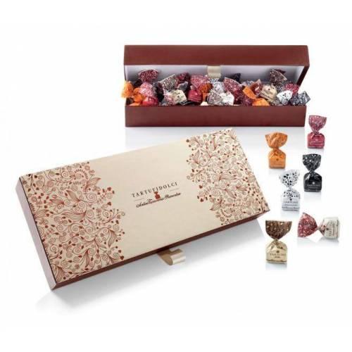 Antica Torroneria Piemontese Saldainių dėžutė TARTUFI DOLCI ASSORTITI (500 g) 34,99EUR