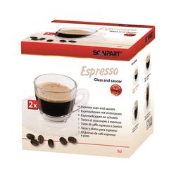 Scanpart Scanpart ESPRESSO kavos stikliniai puodeliai 2 x 70 ml 9,49EUR
