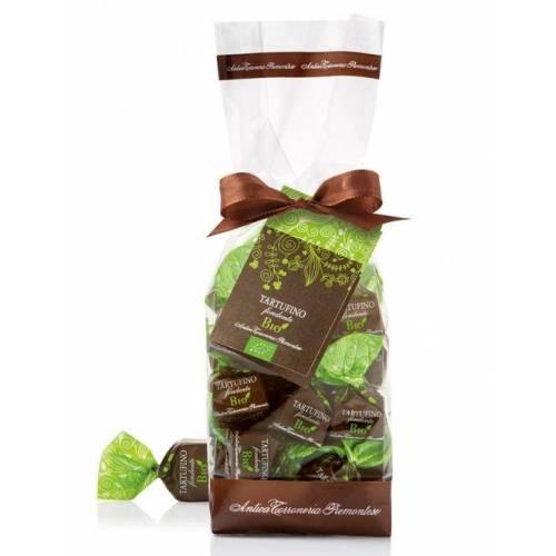 Šokoladiniai triufeliai TARTUFINI FONDENTI BIO 200 g
