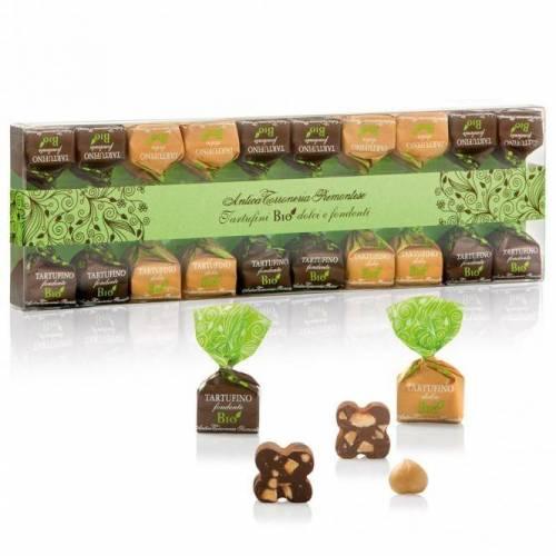 Šokoladiniai triufeliai TARTUFINI BIO MISTI 140 g