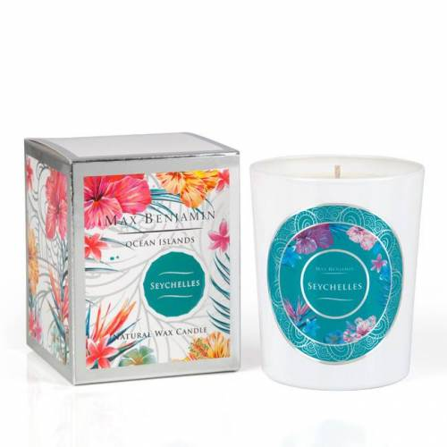 Aromatinė žvakė Max Benjamin Ocean Islands Seychelles