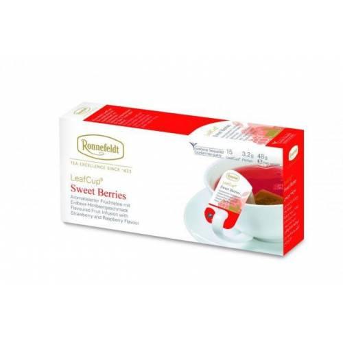 Ronnefeld arbata Vaisinė arbata LeafCup® Sweet Berries 15 vnt. 5,99EUR