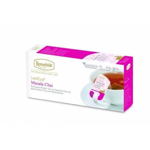 Juodoji arbata LeafCup® Masala Chai 15 vnt.