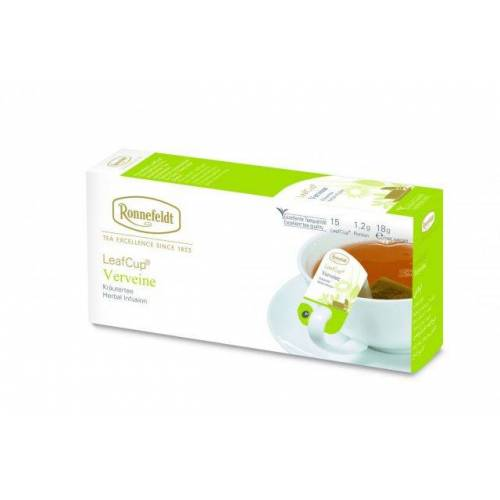 Žolelių arbata LeafCup® Verveine 15 vnt.