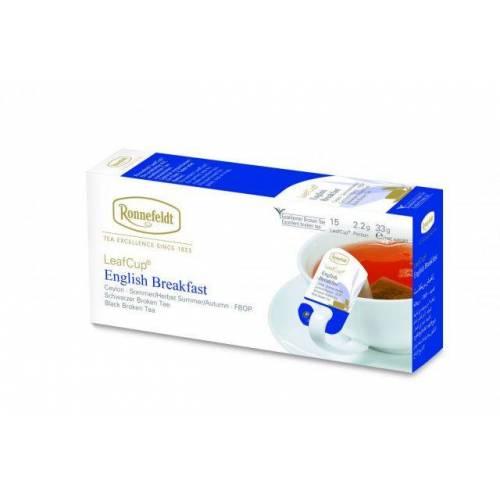 Ronnefeld arbata Juodoji arbata LeafCup® English Breakfast 15 vnt. 5,99EUR