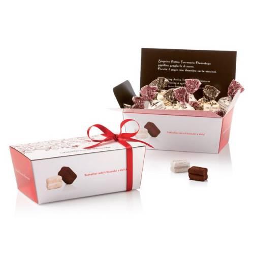 Šokoladinių triufelių dėžutė TARTUFO DOLCE 180 gr