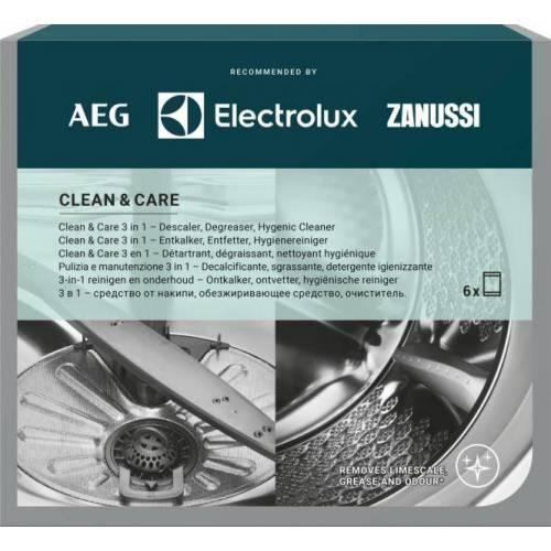 """ELECTROLUX Valymo priemonių rinkinys \\""""3 in 1\\"""" skalbyklėms ir indaplovėms M3GCP400 (6 vnt.) 13,99EUR"""