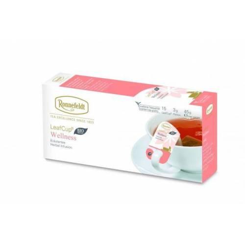Ronnefeld arbata LeafCup® žolelių arbata Wellness 15 vnt. €5.99