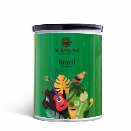 SORPRESO Malta kava Brazil Yellow Bourbon (Skardinėje) 6,99EUR