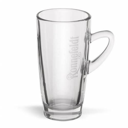 """Ronnefeld arbata Stiklinė """"Ronnefeldt"""" su logotipu 2,99EUR"""