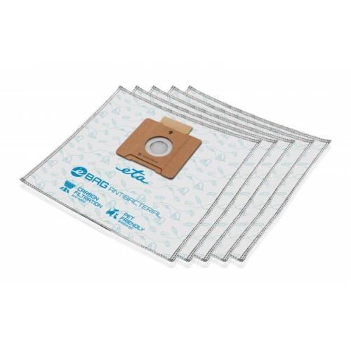Eta Dulkių maišeliai eBAG ETA960068020 Antibacterial, 5 vnt. pakuotėje 8,99EUR