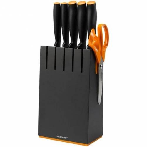 Fiskars Fiskars 5-ių peilių dėklas (Functional Form, 1014190), juodos spalvos 80,00EUR