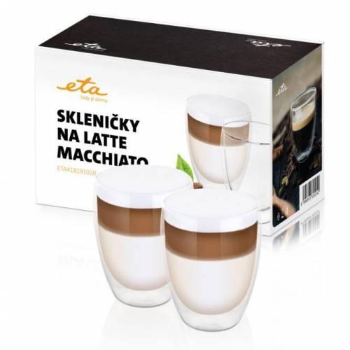 Eta LATTE MACCHIATO stikliniai puodeliai ETA418191020 2 x 350 ml 12,99EUR