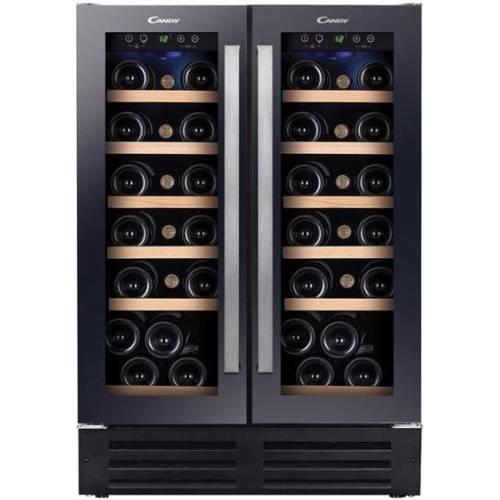 CANDY Vyno šaldytuvas Candy CCVB 60D, įmontuojamas, dviejų zonų 585,00EUR