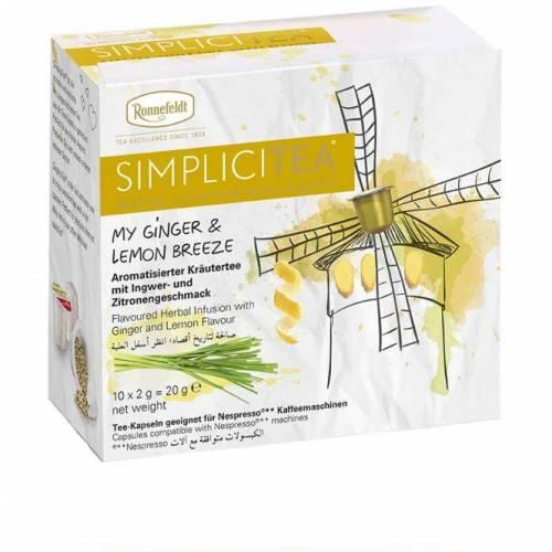 Ronnefeld arbata Arbata kapsulėse Simplicitea® Ginger & Lemon 4,49EUR