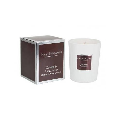 Aromatinė žvakė Max Benjamin Coffee and Cardamon klasikinė kolekcija