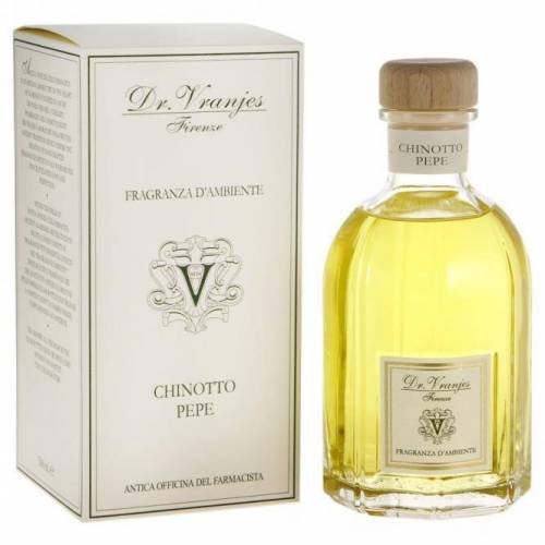 Dr. Vranjes Firenze Namų kvapas 500 ml Chinotto Pepesu lazdelėmis iš Dr. Vranjes Firenze kolekcijos 89,00EUR